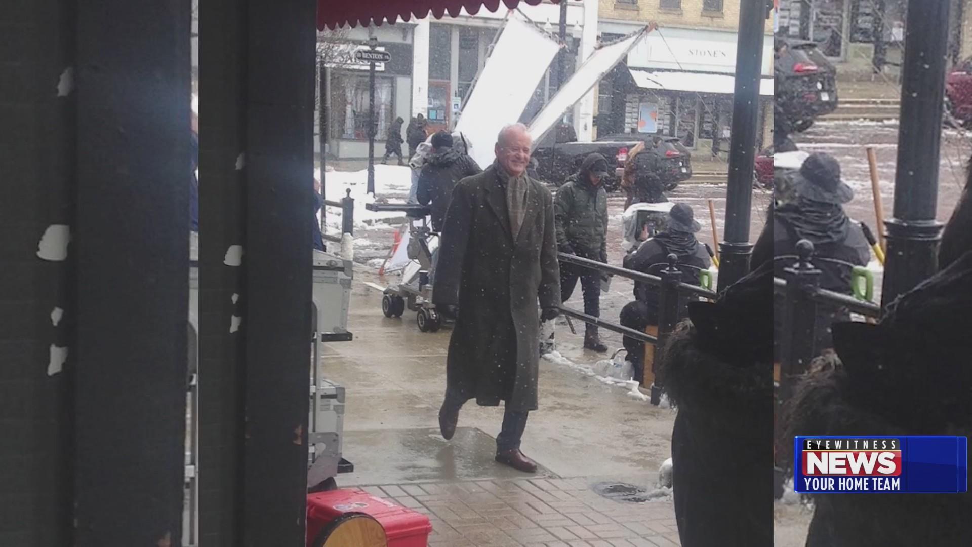 """Bill Murray torna nella piazza dove ha girato """"RICOMINCIO DA CAPO"""" 28 anni dopo per un spot"""