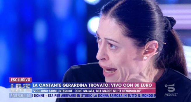 """Gerardina Trovato: """"Mia madre mi ha augurato di morire da sola, vivo grazie alla Caritas"""""""