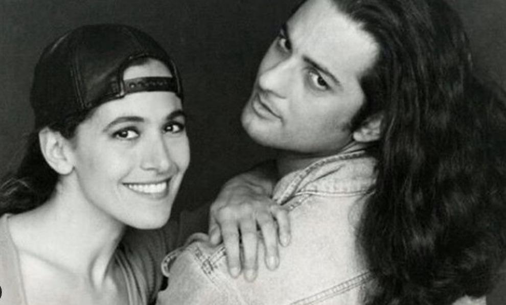 """Barbara D'Urso posta una foto ricordo con Fiorello: """"Eccoci insieme negli Anni Novanta"""""""