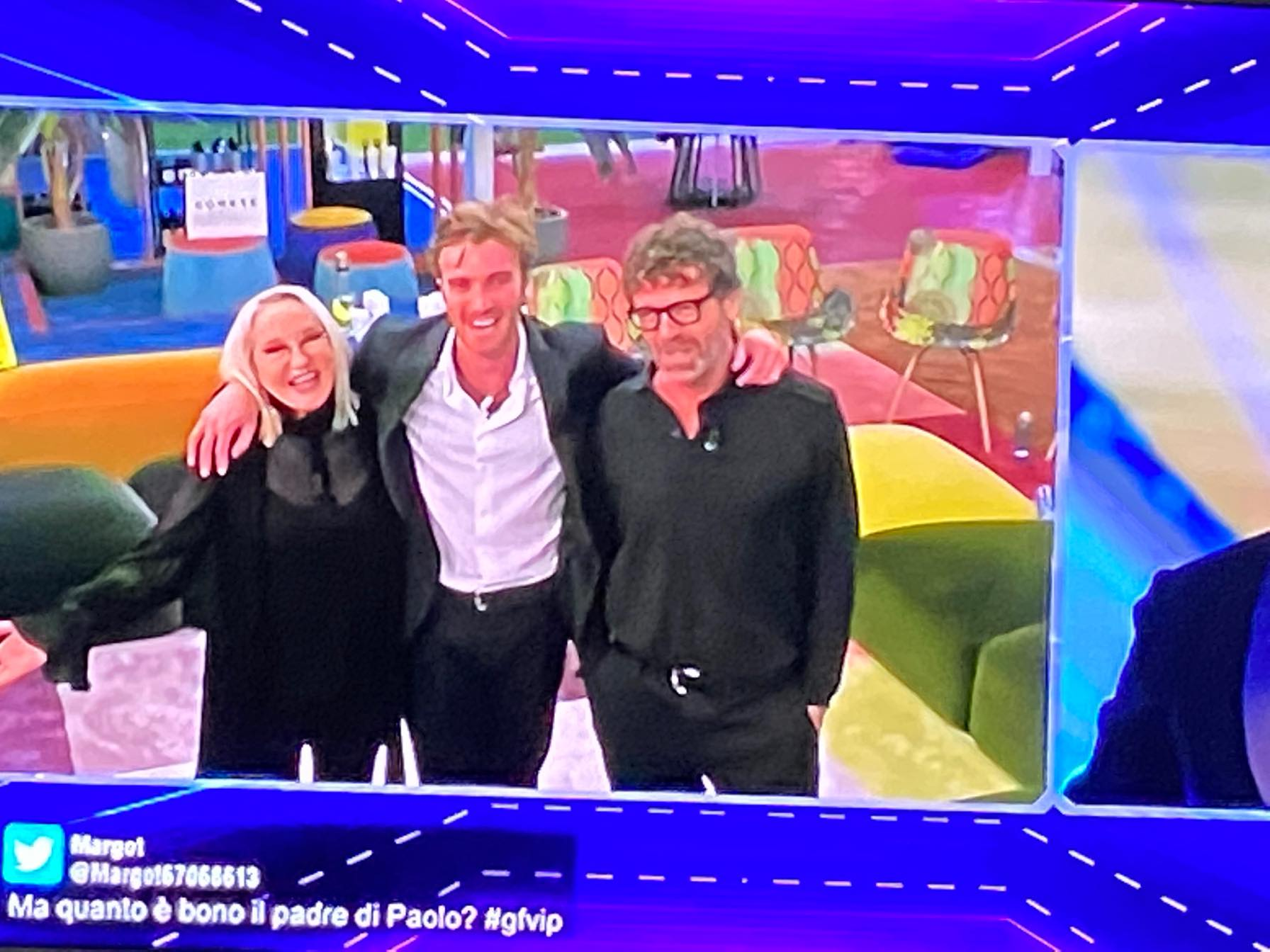 Eleonora Giorgi e Massimo Ciavarro dopo tanto tempo in tv insieme nella casa del GF per il figlio Paolo