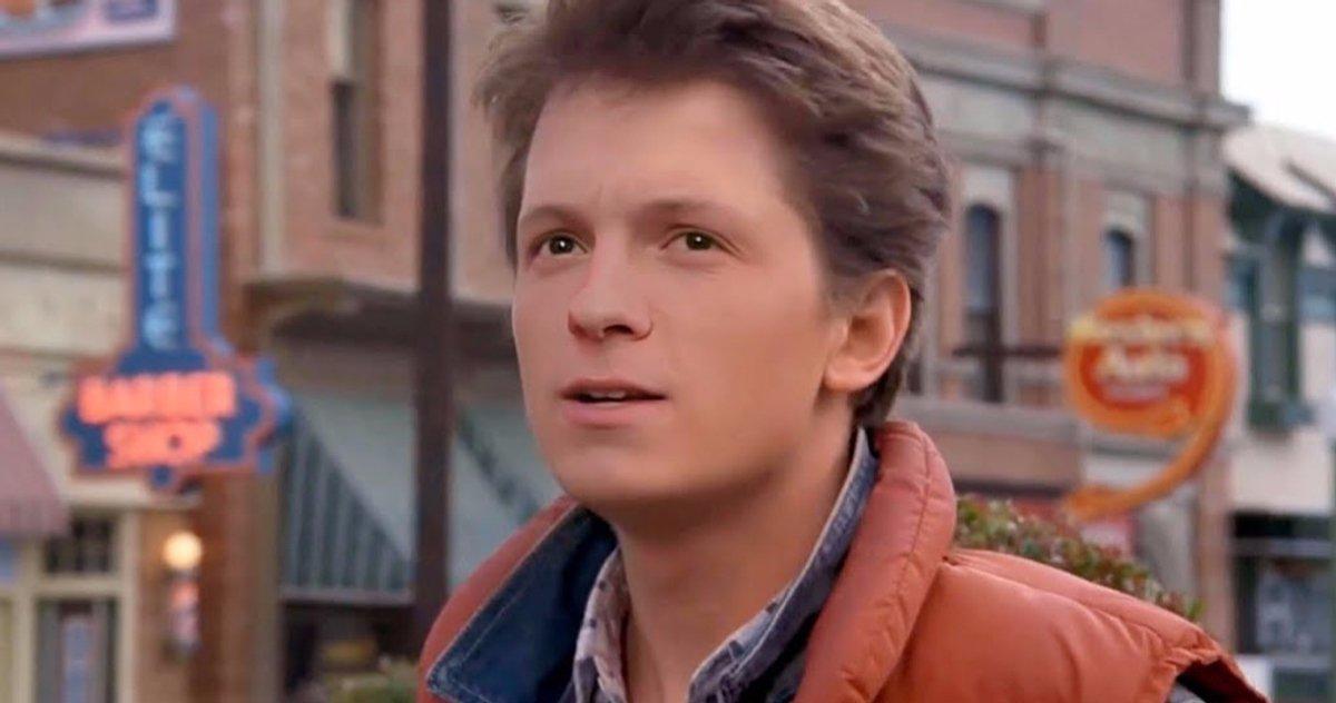 """Ritorno al Futuro, Tom Holland sulla proposta del reboot: """"No, è un film perfetto"""""""