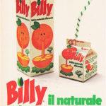 """""""Billy"""", il succo d'arancia simbolo degli anni Ottanta: la sua storia"""