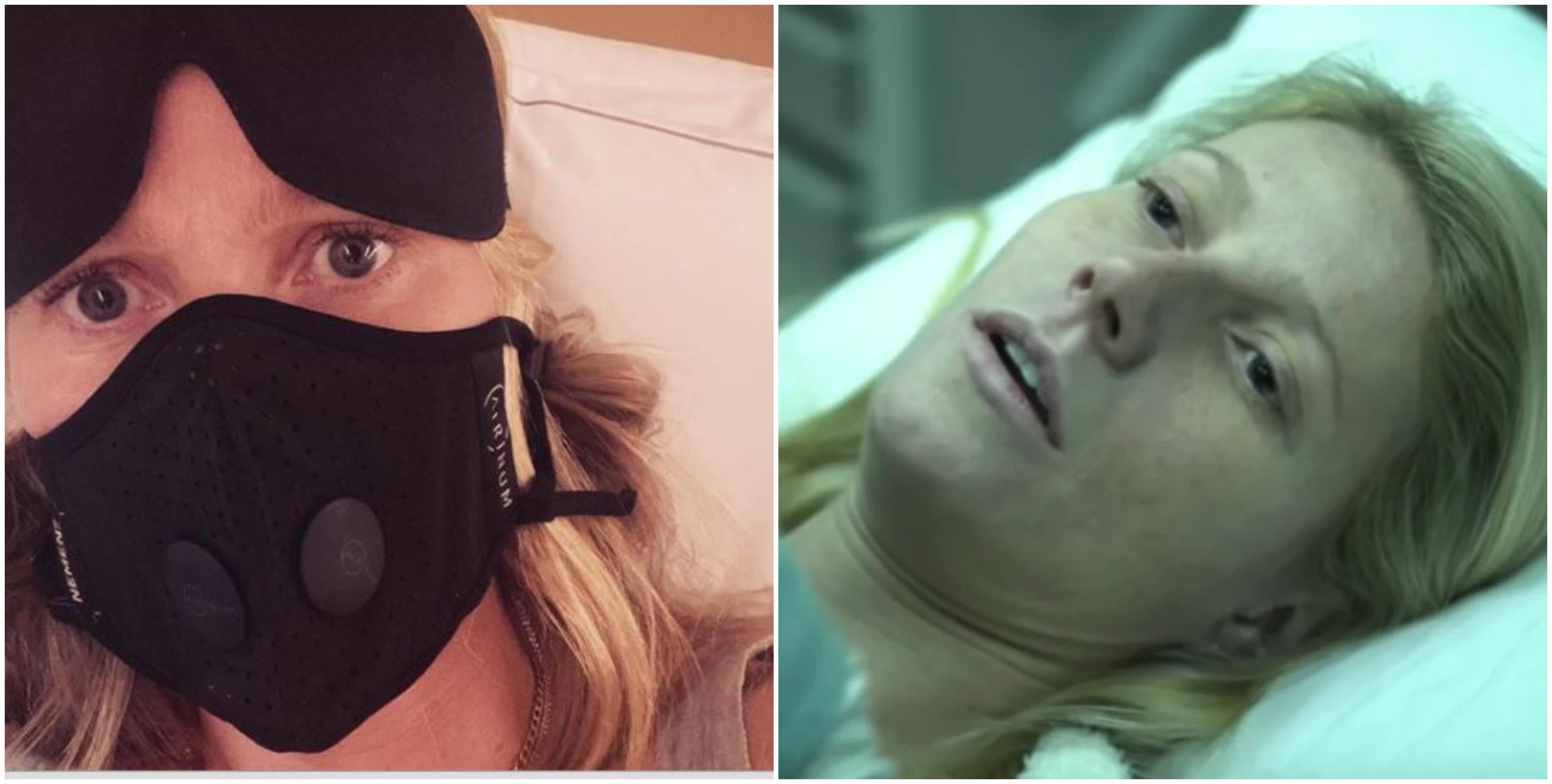 "Gwyneth Paltrow con la mascherina: ""Ho già vissuto questo film"""