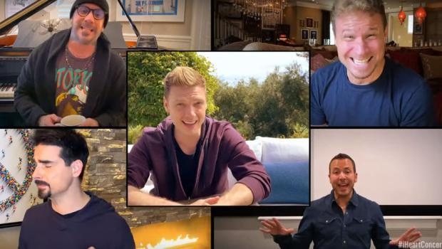 """I Backstreet Boys cantano """"I Want It That Way"""" a casa, riuniti in un video a distanza"""