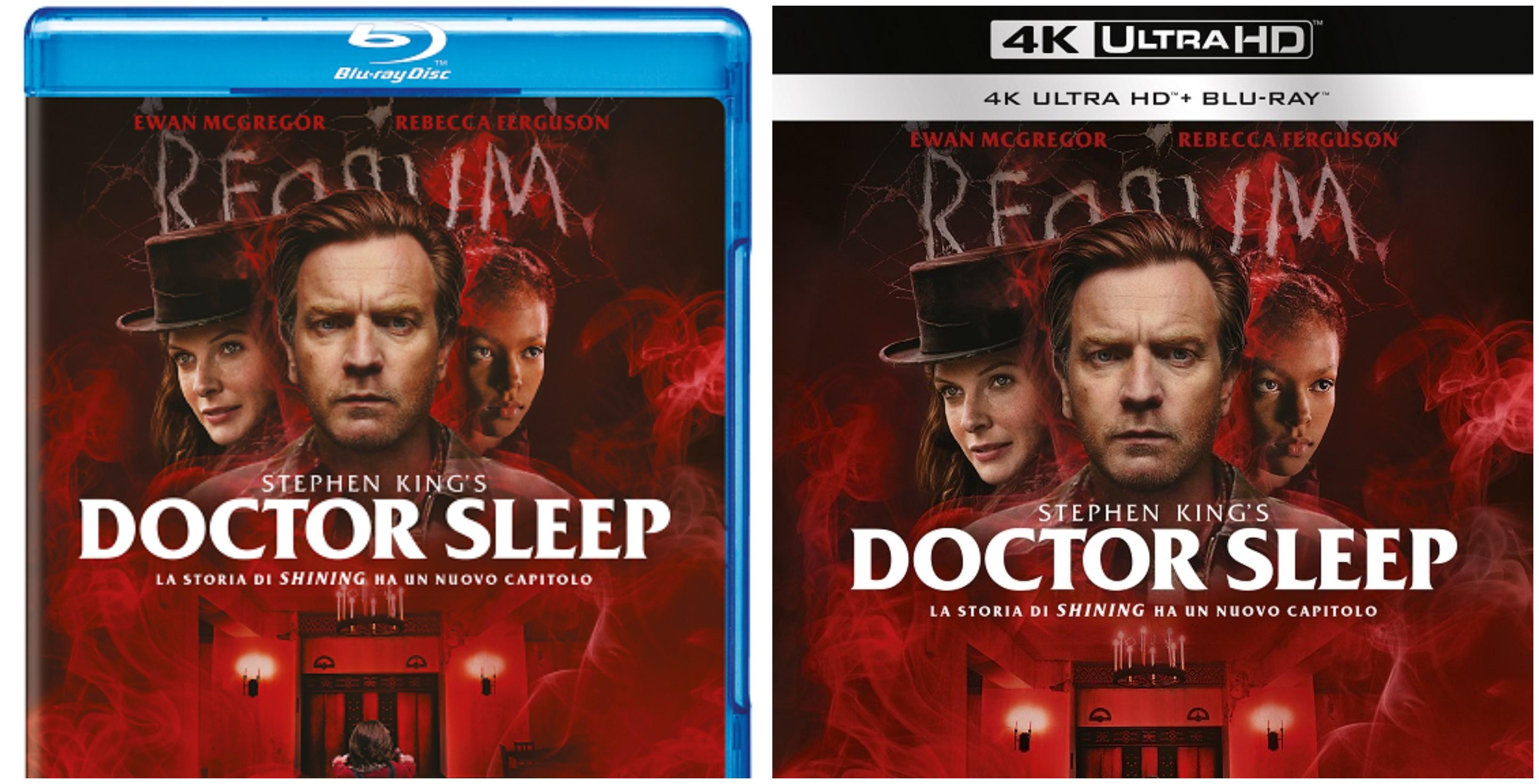 Doctor Sleep – il sequel di Shining arriva in DVD, Blu-Ray e 4K UHD con tanti contenuti inediti