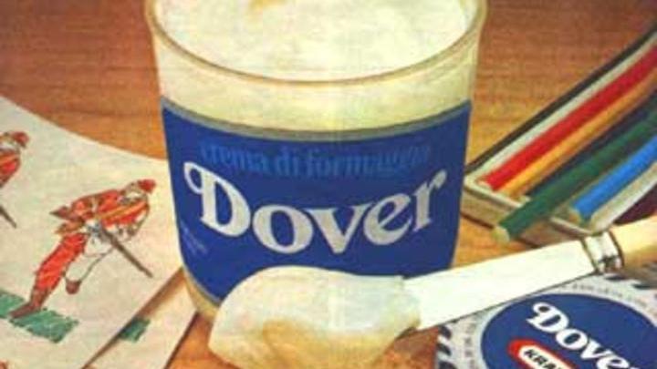 Il formaggio DOVER, la crema spalmabile degli anni 80 oramai fuori commercio