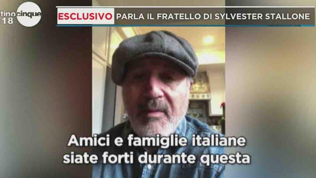 """Frank Stallone a Mattino 5: """"Amici e famiglie italiane siate forti"""""""