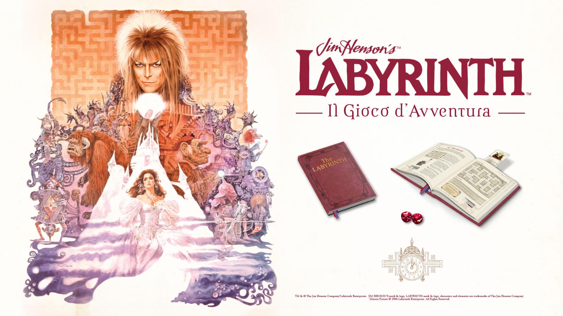 Labyrinth: il celebre film con David Bowie in versione gioco da tavolo!
