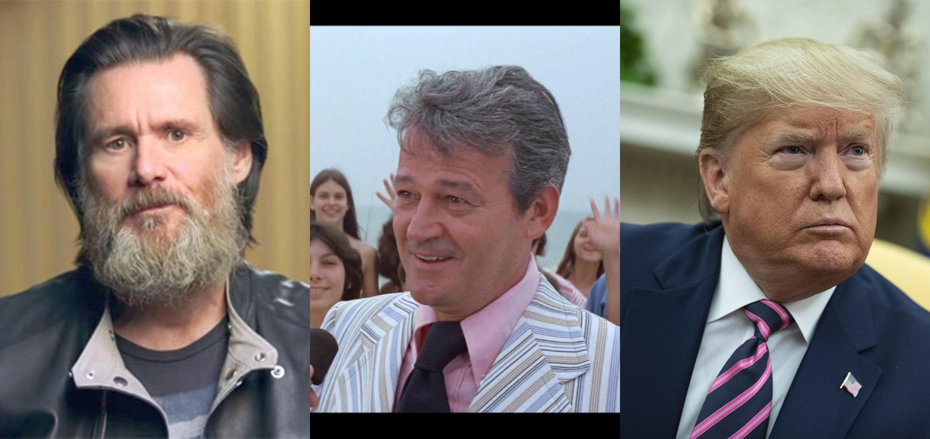 """Jim Carrey su Donald Trump: """"È diventato come il sindaco de Lo Squalo"""""""