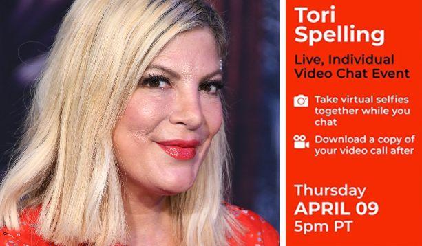 """""""95 dollari per una video-chat con Tori Spelling"""": l'attrice nella bufera"""