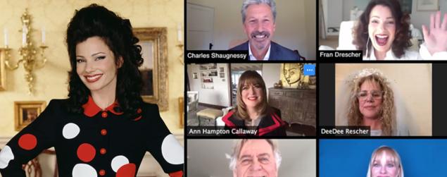 La Tata: reunion del cast per la lettura del primo episodio su Internet