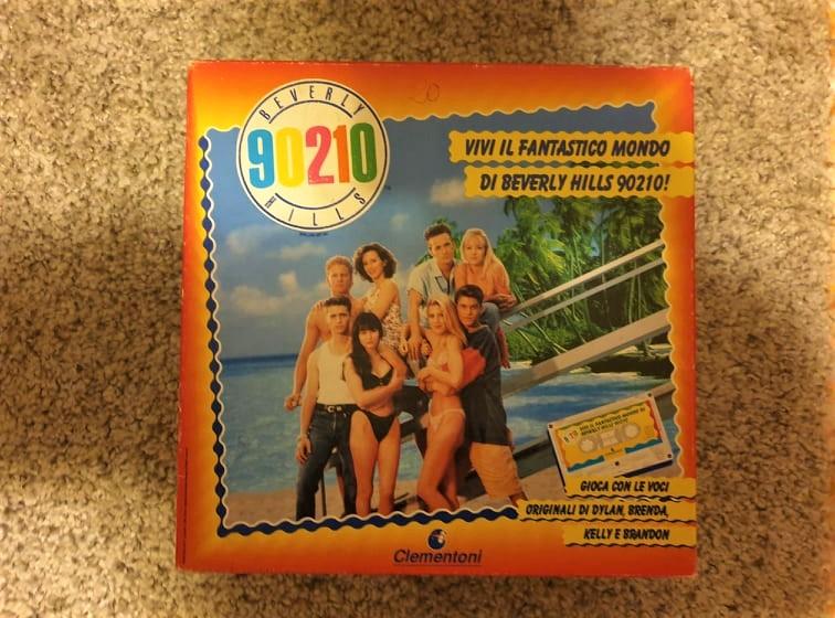 Beverly Hills 90210 – Il gioco da tavolo di Clementoni (1991)
