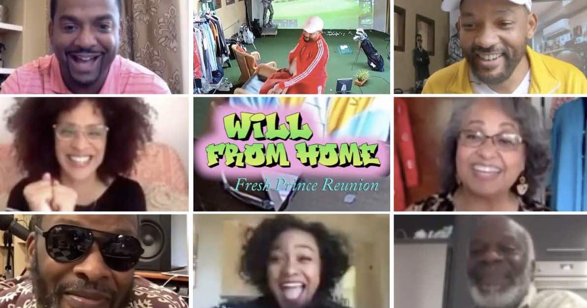 Willy il Principe di Bel Air: ecco la reunion del cast in streaming