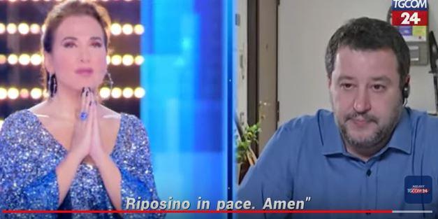 """""""Cancellare i programmi di Barbara d'Urso"""", la petizione dopo la preghiera in diretta con Salvini"""