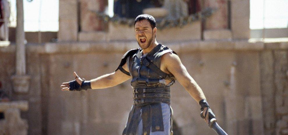 """Russell Crowe: """"all'inizio """"Il Gladiatore"""" doveva finire diversamente"""""""