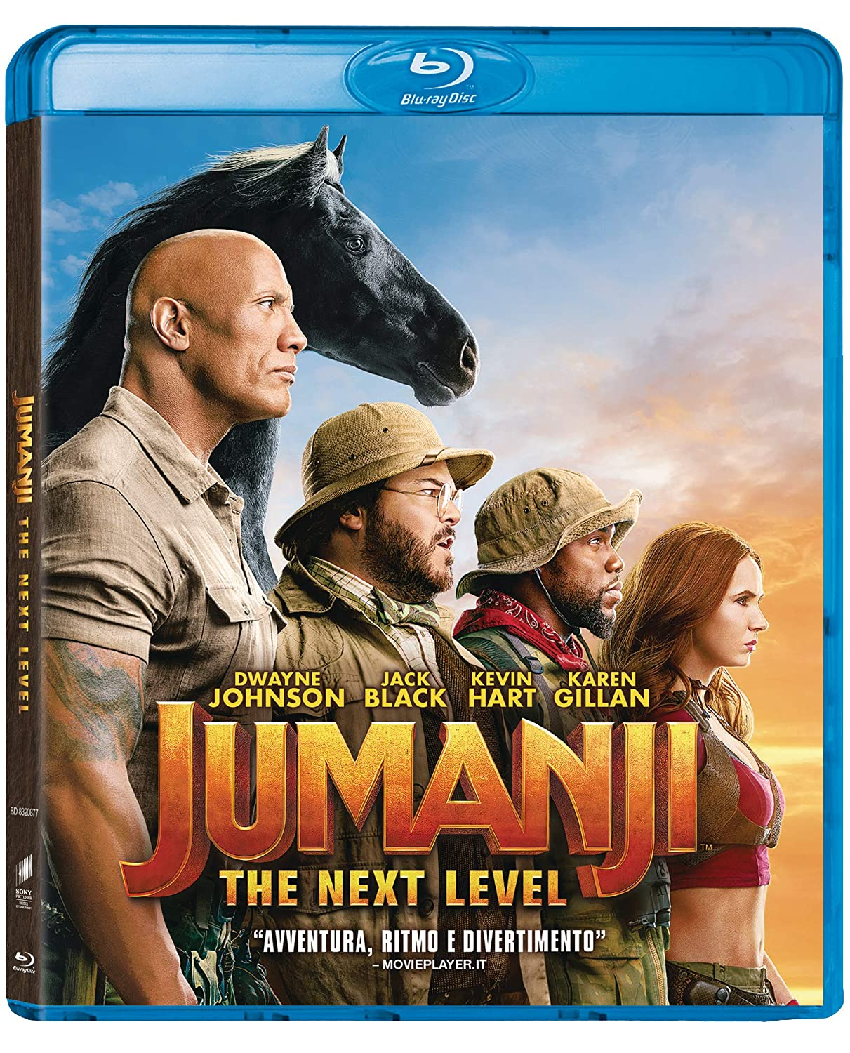 JUMANJI – THE NEXT LEVEL – in home video con Universal Pictures Home Entertainment Italia