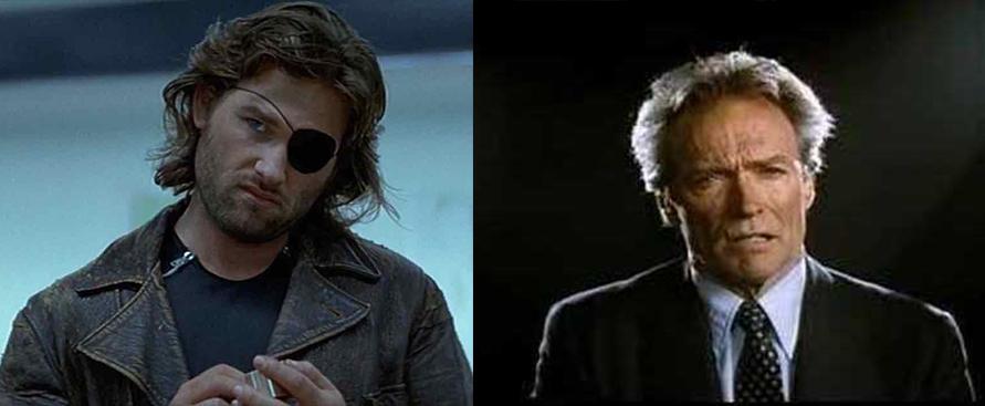"""1997: Fuga da New York"": quando Kurt Russell sostituì Clint Eastwood"