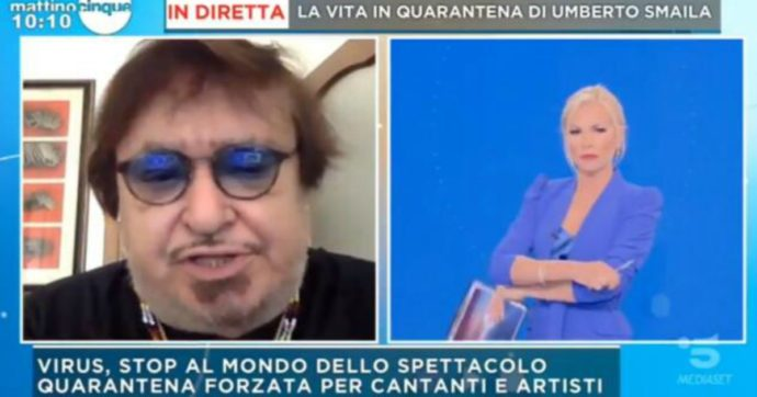 """Umberto Smaila: """"La gente come me rimarrà disoccupata per molti mesi, mentre i virologi guadagnano il triplo"""""""