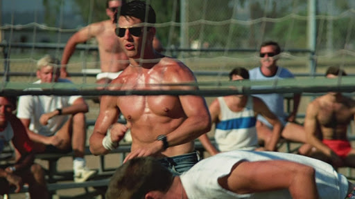 Top Gun: Rick Rossovich (Slider) ricorda la celebre scena della partita di beach volley
