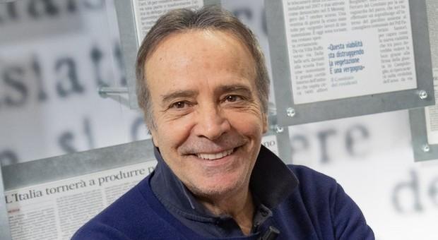 """Enrico Montesano: """"Mi candido pure io a sindaco, noi attori non siano da meno di tanti politici"""""""