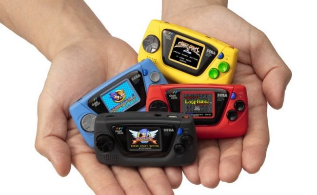 SEGA: annunciato il Game Gear Micro insieme ai giochi disponibili