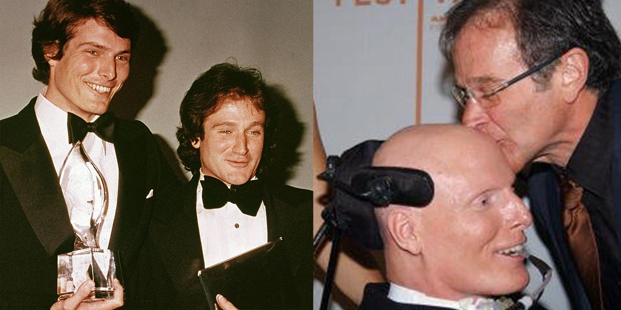 Robin Williams e Christopher Reeve: la forte amicizia e quella risata insieme dopo l'incidente