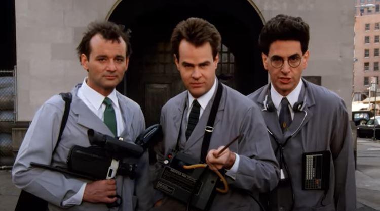 Ghostbusters: pubblicato un prezioso video del dietro le quinte con Bill Murray, Dan Aykroyd e Harold Ramis