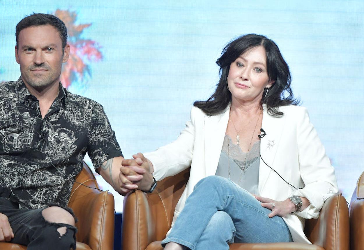 """Shannen Doherty: """"Brian, abbiamo sempre avuto un legame, un affetto, un amore reciproco che ci ha tenuti legati insieme per così tanto tempo"""""""