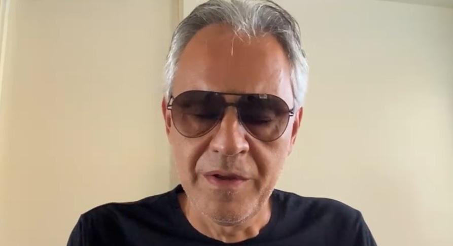 """Andrea Bocelli chiede scusa per le sue dichiarazioni sul Covid: """"Non era nelle mie intenzioni offendere nessuno"""""""