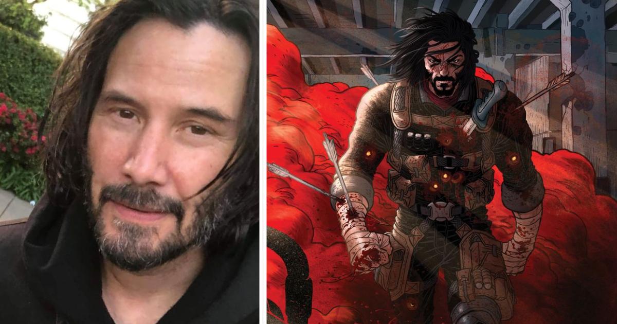 Keanu Reeves ha scritto un fumetto e il protagonista ha le sue fattezze