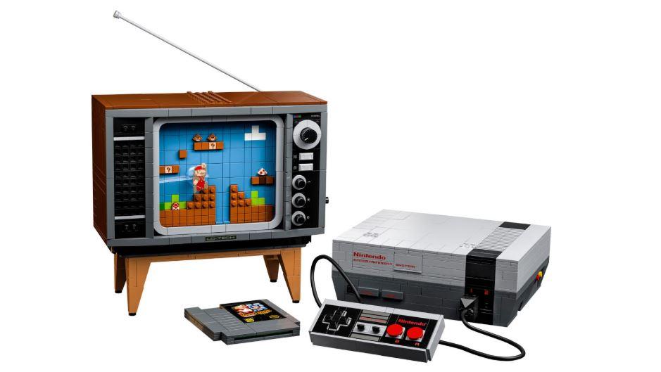Nintendo NES: in arrivo lo spettacolare set LEGO che riproduce console e Super Mario Bros