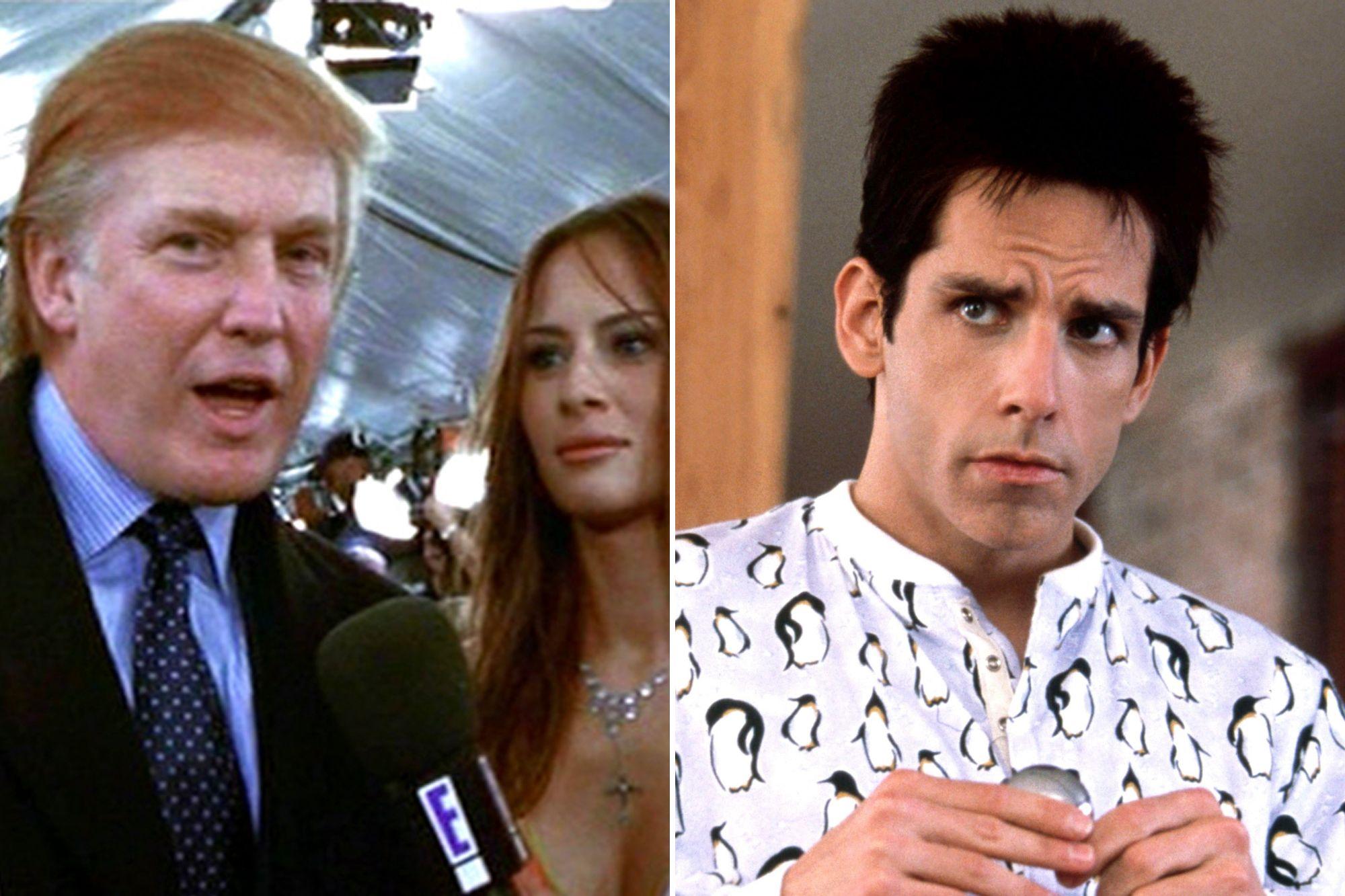 Zoolander, la risposta di Ben Stiller alla richiesta di togliere dal film Donald Trump e Melania