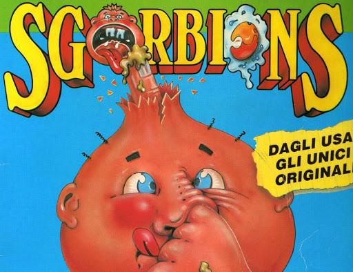 GLI SGORBIONS: LE MOSTRUOSE E SIMPATICHE FIGURINE ANNI '90