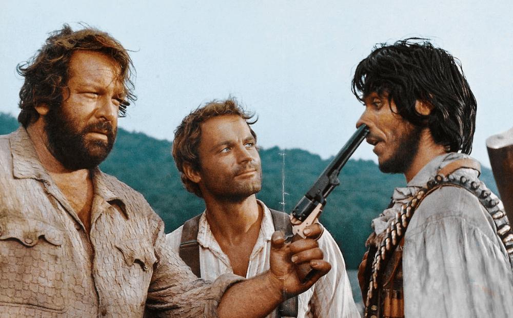 """Terence Hill: """"Io e Bud non ci siamo mai sbronzati, ma abbuffati sì e in quella scena dei fagioli…"""""""