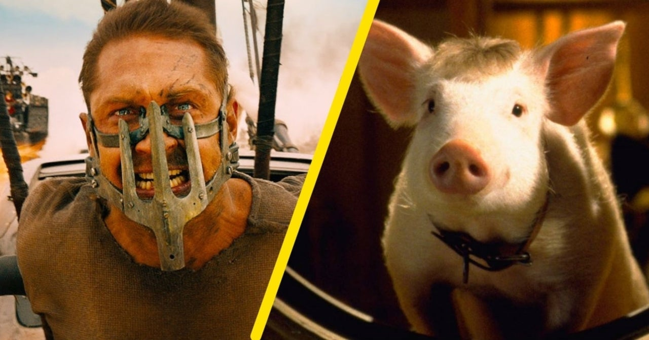 "Mad Max, il regista paragona Mel Gibson, Heath Ledger e Tom Hardy agli animali di ""Babe"""