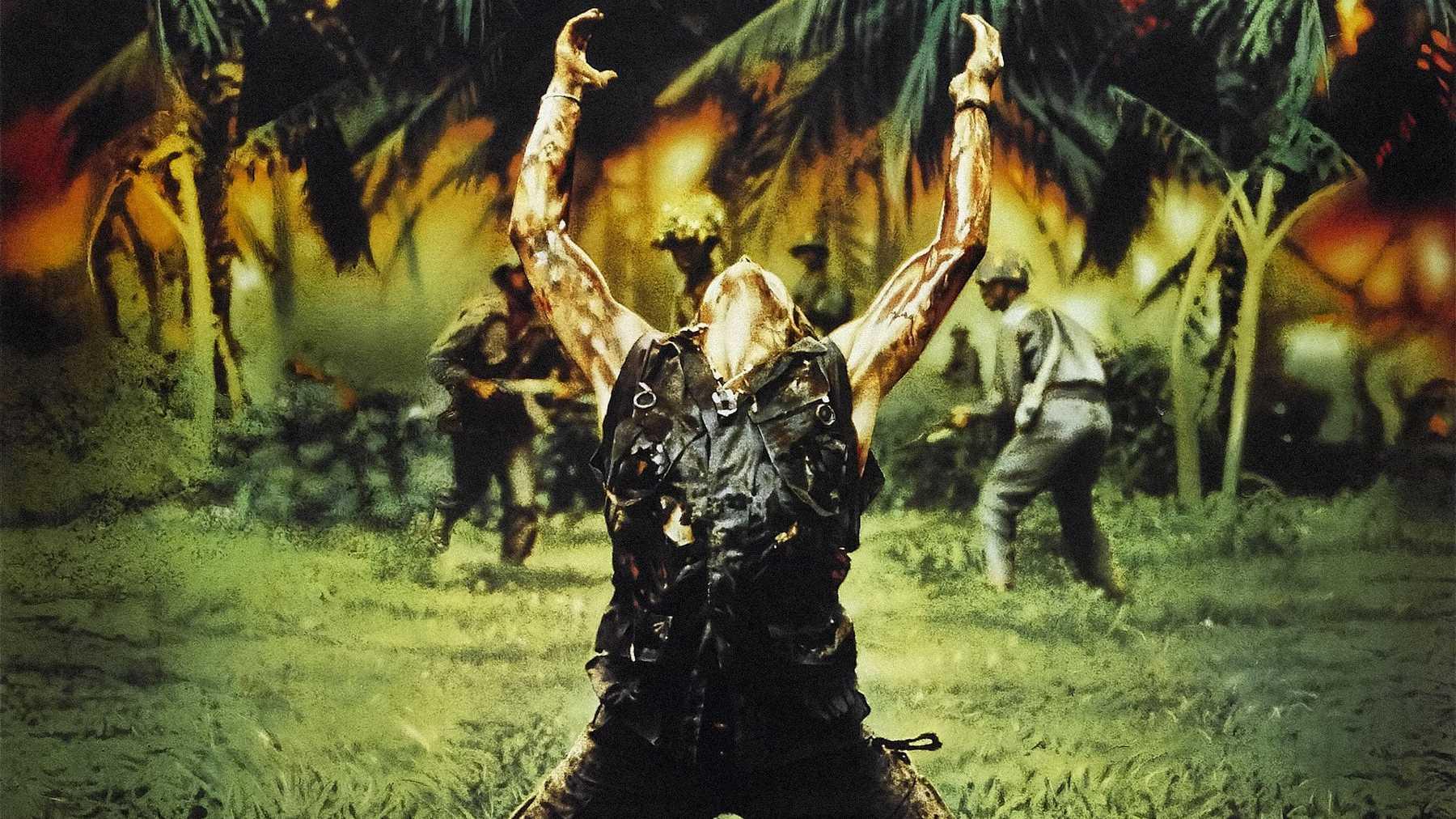Platoon, l'intossicazione di Willem Dafoe, il finale alternativo girato e la sceneggiatura mandata a Jim Morrison