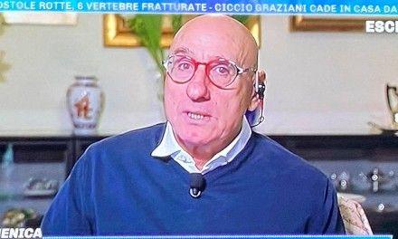 """Ciccio Graziani in lacrime: """"Ho passato 48 ore in terapia intensiva e ho avuto tutte le paure del mondo"""""""