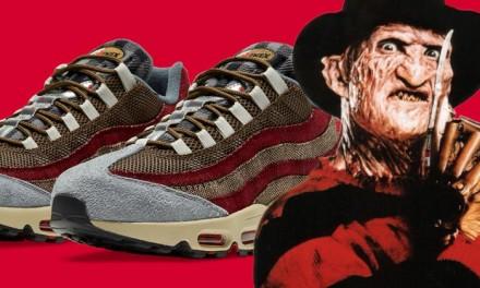 Nightmare, la Nike crea le scarpe dedicate a Freddy Krueger