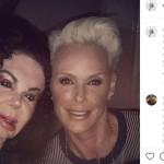 Brigitte Nielsen ricorda Jackie Stallone, sua ex-suocera