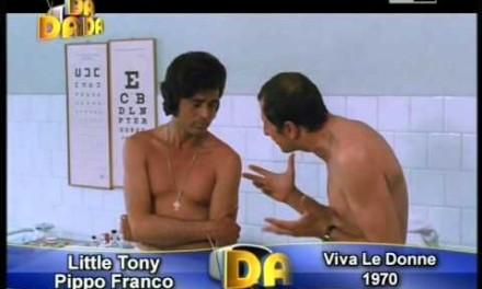 """Pippo Franco ricorda Little Tony: """"Un grande amico. Abbiamo fatto delle esperienze che mi rimarranno sempre impresse"""""""
