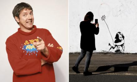 """«Banksy è Neil """"il grande artista"""" di Art Attack»: la bufala spopola sui media ma viene smentita"""
