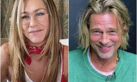 Brad Pitt e Jennifer Aniston: il sogno erotico nel bel mezzo della reunion virtuale