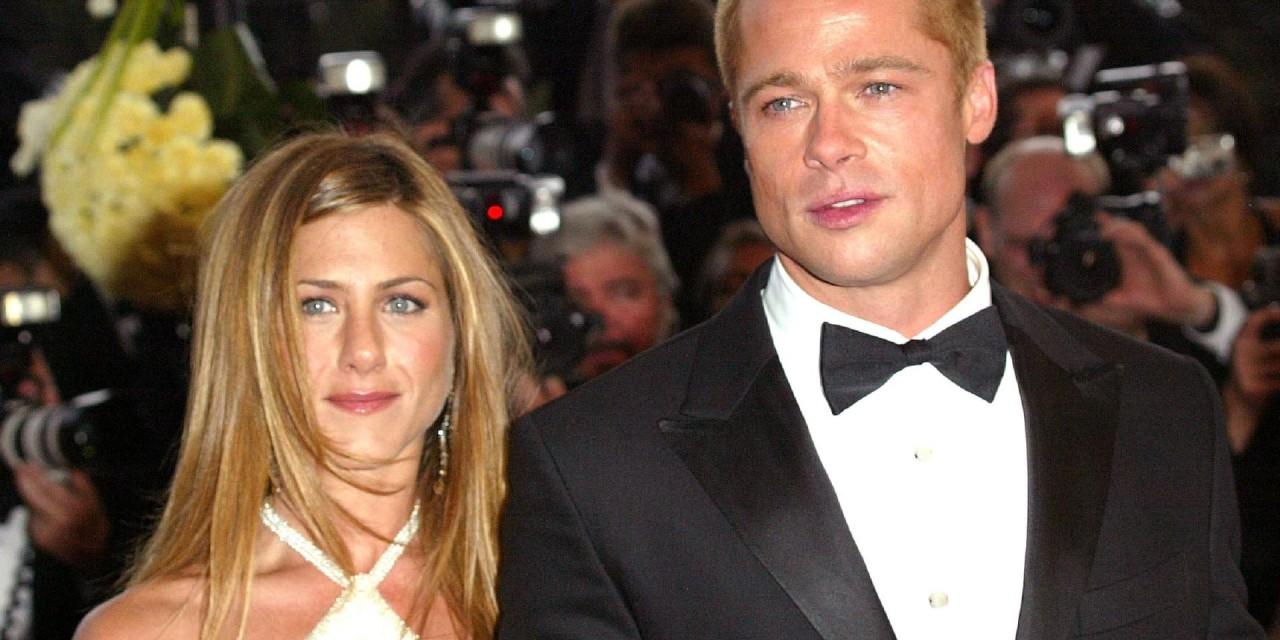 Brad Pitt e Jennifer Aniston: l'ex coppia riunita virtualmente