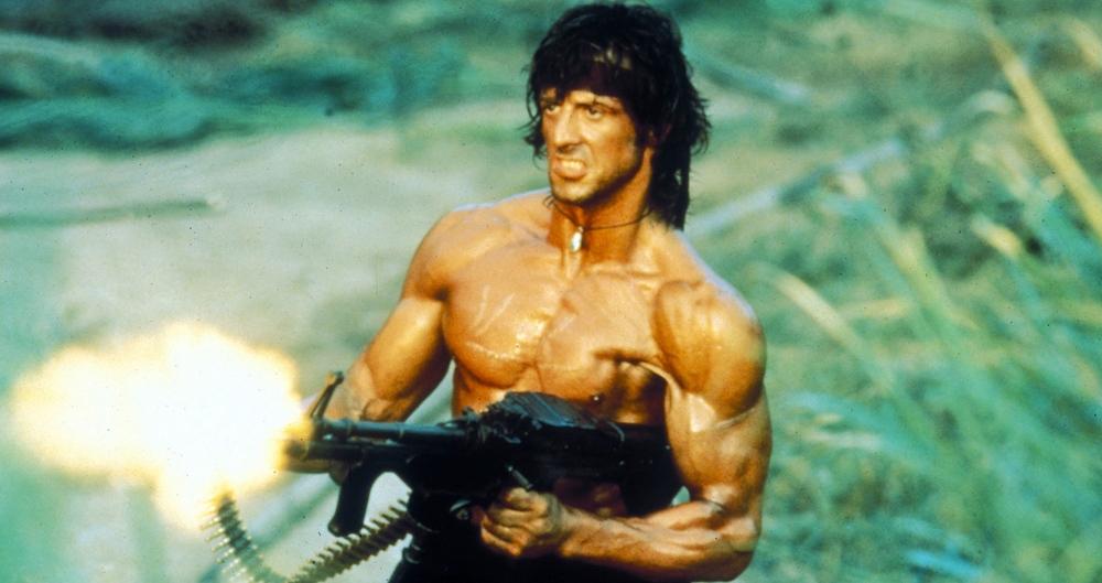 Rambo 2: la scena del monologo finale venne girata 12 volte e il caldo torrido sul set