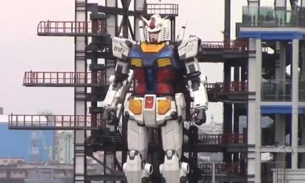 Gundam: il robot anni '80 diventa realtà e muove i primi passi, ecco l'incredibile video