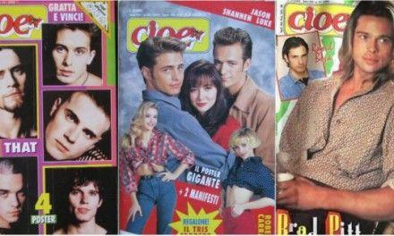 CIOÈ compie 40 ANNI! Il magazine dei record festeggia celebrando I Mitici Anni 80
