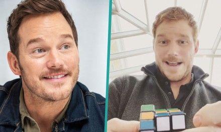Chris Pratt risolve il cubo di Rubik in meno di un minuto: ecco l'impressionante video