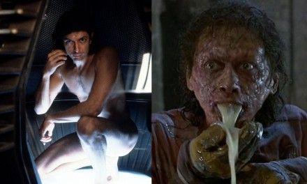 """La Mosca: i problemi con il trucco di Jeff Goldblum e la saliva corrosiva della creatura fatta di latte e…"""""""