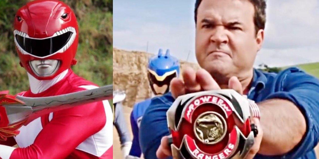 Power Rangers: il Red Ranger storico (Jason) ritorna e si trasforma come una volta!