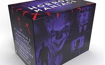 """Dal 13 Ottobre disponibile la """"Warner Bros. Horror Maniacs"""". In arrivo la """"DC Collection Box Set"""" e """"IT – 2 Film Collection"""""""
